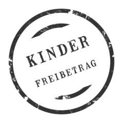 sk225 - StempelGrafik Rund - Kinderfreibetrag - g2713