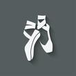 ballet dance studio symbol - 74989934