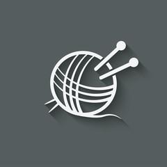 knitting symbol