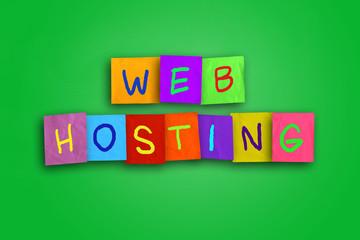 Web Hosting Internet Concept