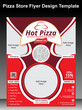 Pizza Store Flyer Design Template