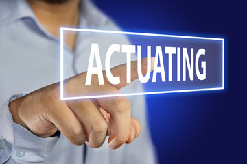 Actuating Concept