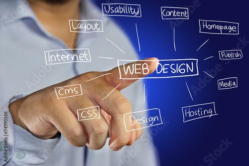 Web Design Concept - 74990366