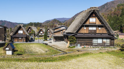 The Historic Villages of Shirakawa-gand Gokayama