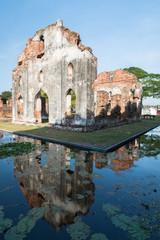 Phra Narai Ratchanivet Palace at Lopburi province, Thailand.