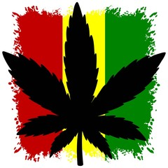 Rasta Warrior Flag