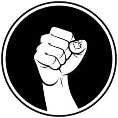 Rebel Fist Insignia