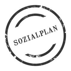 sk230 - StempelGrafik Rund - Sozialplan - g2718