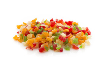 Fruits candied.