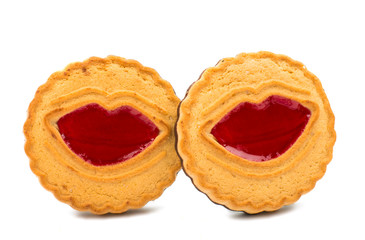 biscuit with jelly filling