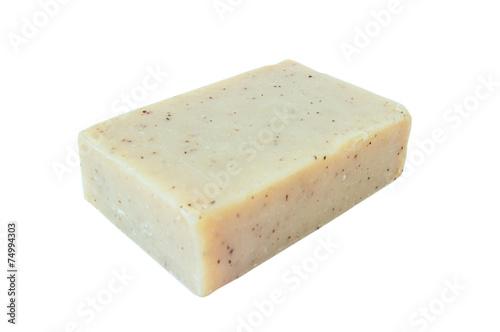 Leinwanddruck Bild Herbal homemade  soap