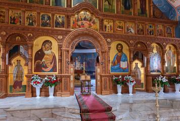 Interior Church of the Resurrection in Samara, Russia