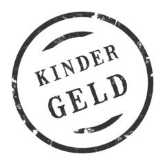 sk238 - StempelGrafik Rund - Kindergeld - g2726