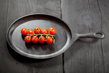 tomaten in der pfanne