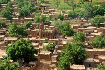 Poblado de la falla de Bandiagara