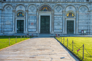 Duomo di Pisa, cattedrale, facciata esterna