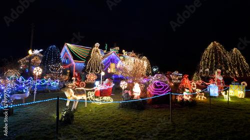 Leinwanddruck Bild Christmas decoration