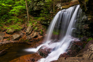 B. Reynolds Falls, at Ricketts Glen State Park, Pennsylvania.