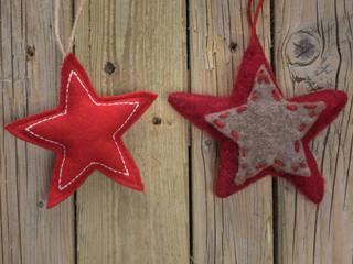 Felt Christmas Stars