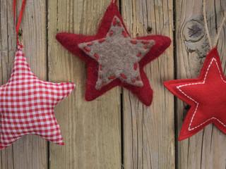 Fabric Christmas Stars