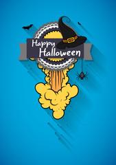 Halloween Greeting Template