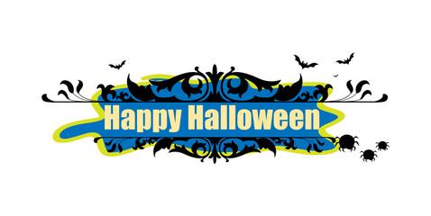 Happy Halloween Template Banner