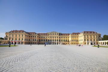Schoenbrunn Palace in Vienna, Austria