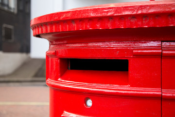 Red london postbox
