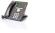 Modern desktop telephone over white background  - 75006157