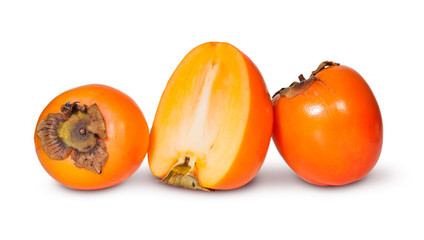 Two Whole And One Half Persimmons