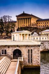The Fairmount Water Works and Museum of Art in Philadelphia, Pen