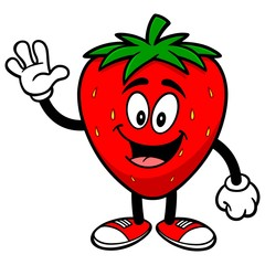 Strawberry Waving