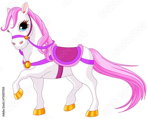 Poster Pony Princess horse