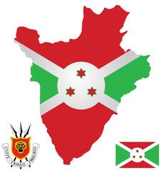 Republic of Burundi flag