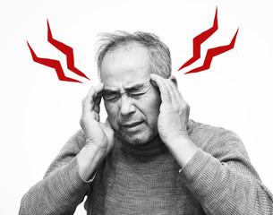 頭痛のイメージ