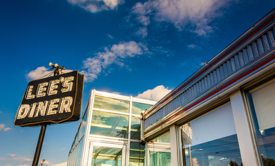 Lee's Diner, along Lincoln Highway near Thomasville, Pennsylvani