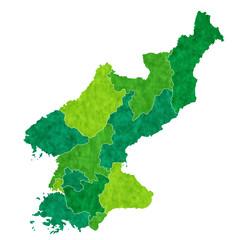 北朝鮮 地図 国