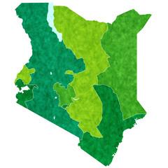 ケニア 地図 国