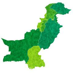 パキスタン 地図 国