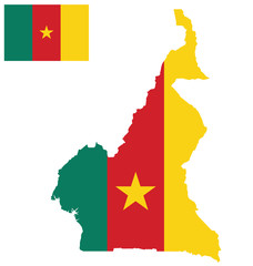 Flag of the Republic of Cameroon