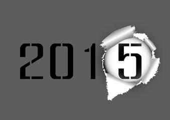 Vector : Tear hole paper 2014-2015