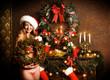 smiling santagirl