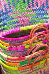 cabas de fabrication artisanale malgache