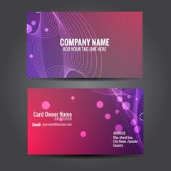 creative business template design
