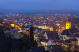 Schwandorf at night