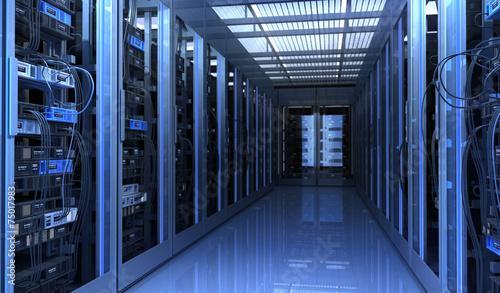 Leinwanddruck Bild Techno Room