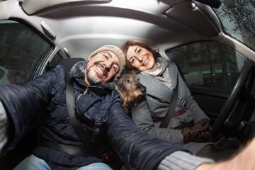 In viaggio in auto