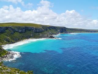 A sand beach bay in Flinders chase  in Australia