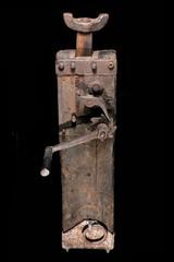 jack-screw lifter foundations vintage