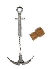 vintage corkscrew anchor